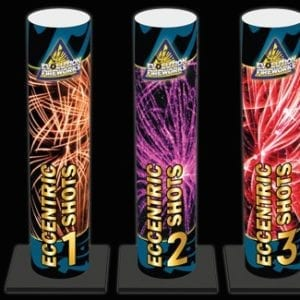 Kabalts vuurwerkhal - Eccentric Shots product